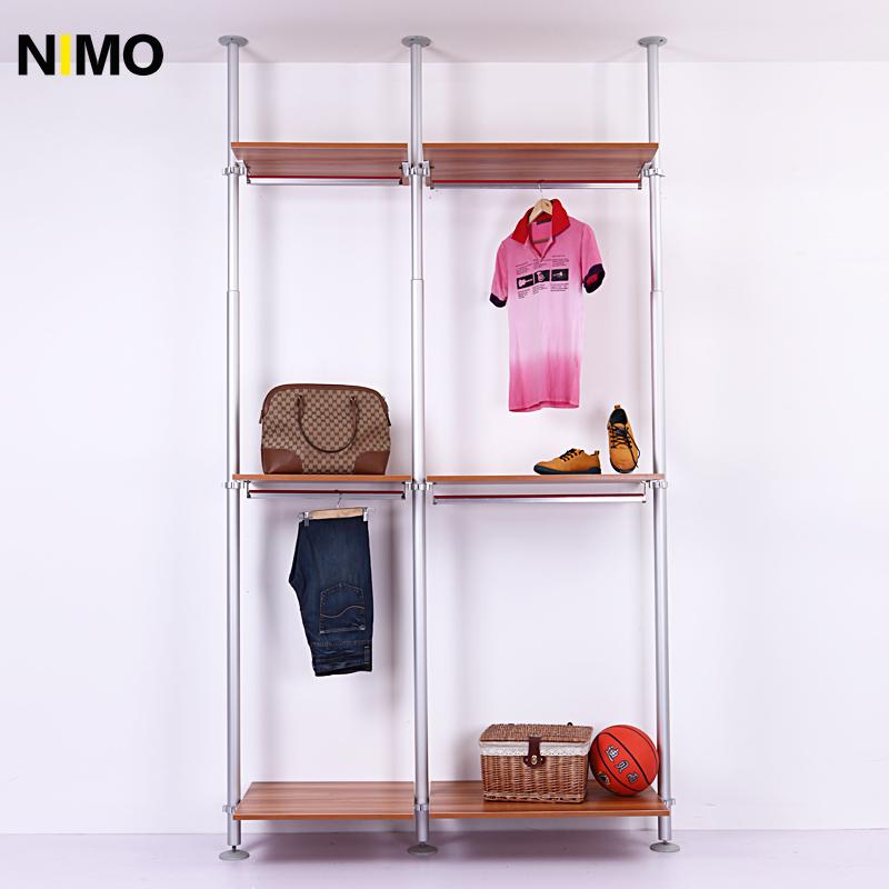 nimo整体组装大衣柜简易板式衣柜558