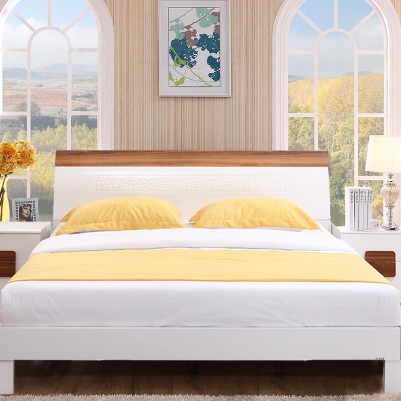 三叶家私板式高箱床13D-C06
