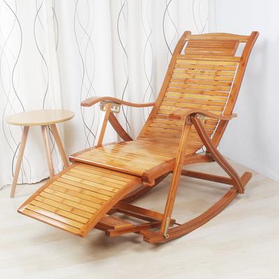 竹摇椅躺椅逍遥椅成人摇摇椅懒人阳台午睡椅老人休闲折叠午休椅子