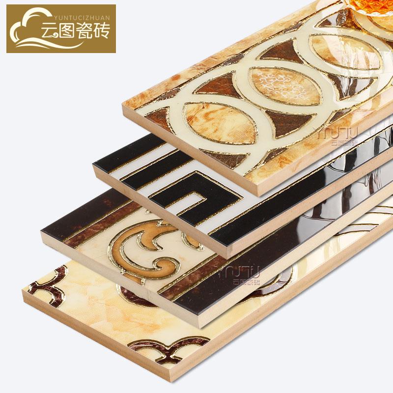 云图波导线腰线瓷砖YT15809