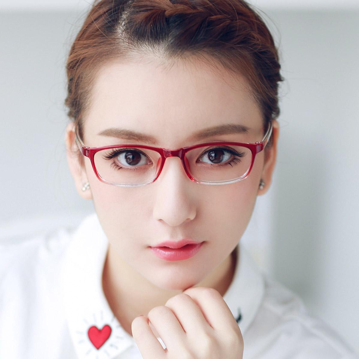 近视眼镜女超轻小脸眼镜架女 眼镜框近视女款高度数 复古眼镜架女
