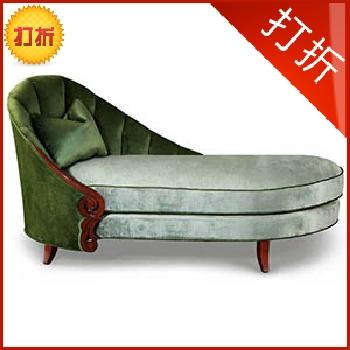 斐然家具新古典贵妃椅bk247