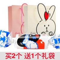 巨型大白兔奶糖创意糖果礼盒生日圣诞节情人节礼物零食品200g