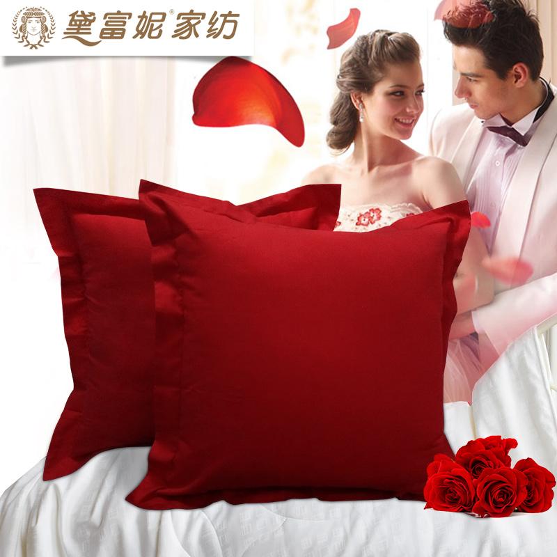 黛富妮红色婚庆情侣方枕DEF-445-60*60