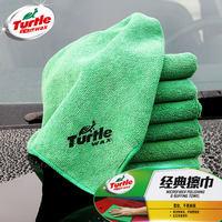 龟牌洗车擦车巾布抛光吸水毛巾汽车清洗用工具超细纤维加厚不掉毛