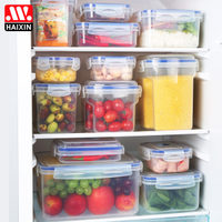 冰箱收纳盒保鲜盒密封分类饺子盒整理箱塑料盒子透明食品收纳盒