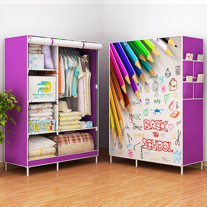 开迪简易衣柜学生衣橱GY023D