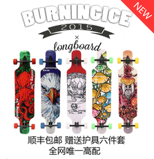 Скейтборд Beijing Burns ice skate Longboard