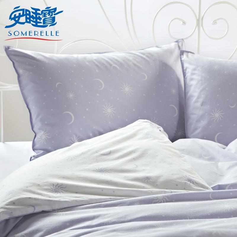 安睡宝星月花型枕套S54074AS.