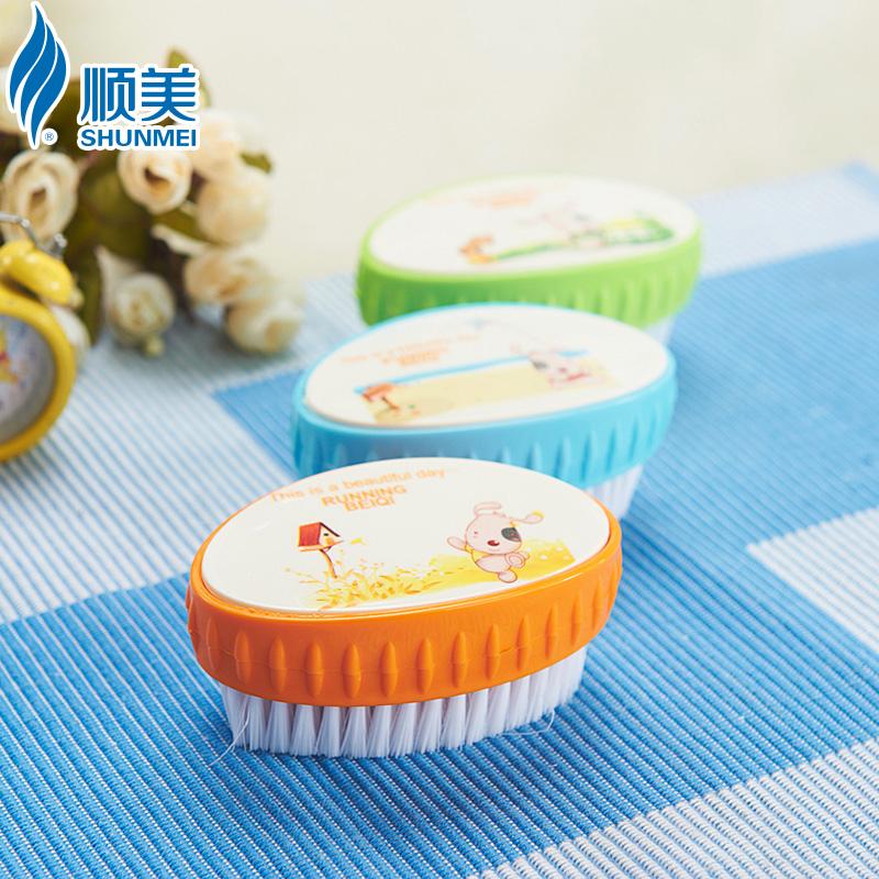顺美贝奇塑料洗衣刷子SM-2351BQ