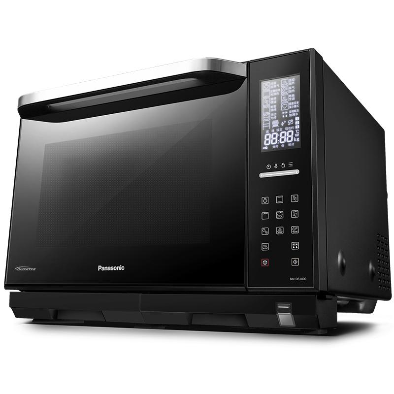 松下NN-DS1000微波炉烤箱蒸箱多功能微蒸烤一体机家用智能27L