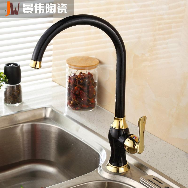 景伟陶瓷欧式台盆水龙头HT-8803