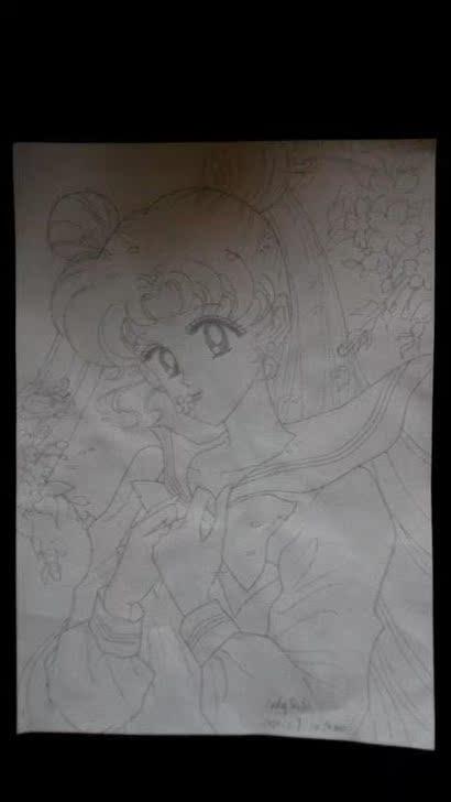 卡通动漫手绘图 海贼王 美少女 柯南 灌篮高手