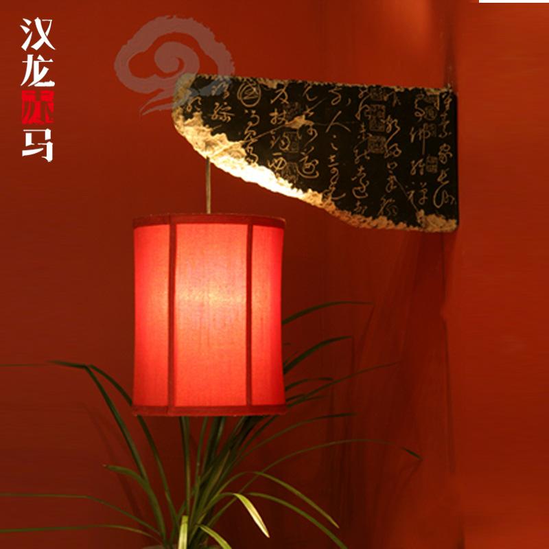汉龙赤马新中式壁灯D--005