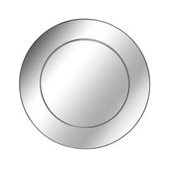 简创系不锈钢圆形挂镜工艺装饰镜子墙面装饰镜圆镜