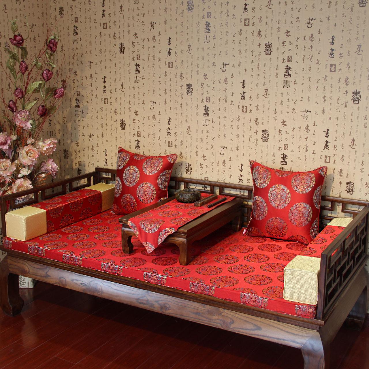 星沁明清古典中式罗汉床垫子GD-001