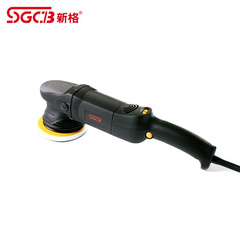 SGCB新格抛光机电动 台式偏心机套包汽车美容专用打磨机