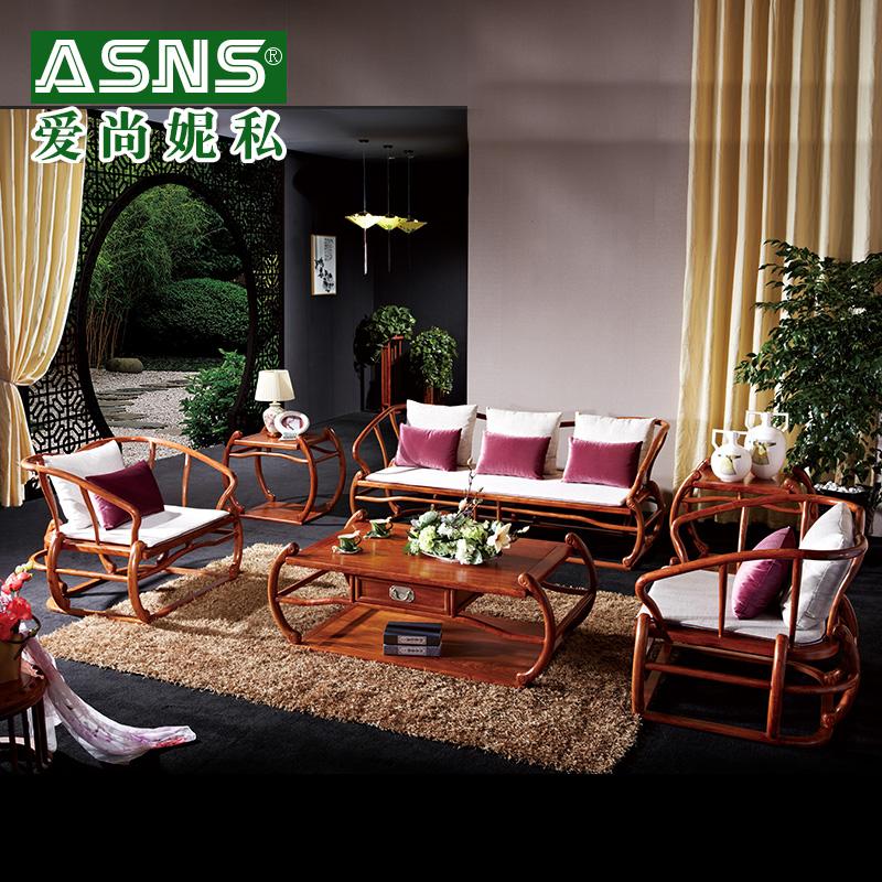 爱尚妮私家具新中式红木沙发GC--805