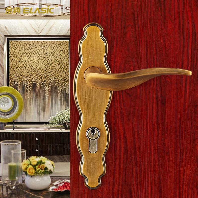 金典室内门锁欧式房门锁D6178J-ACY