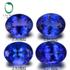 彩贸珠宝 5A级天然坦桑石彩色宝石 裸石戒面 珠宝镶嵌定制