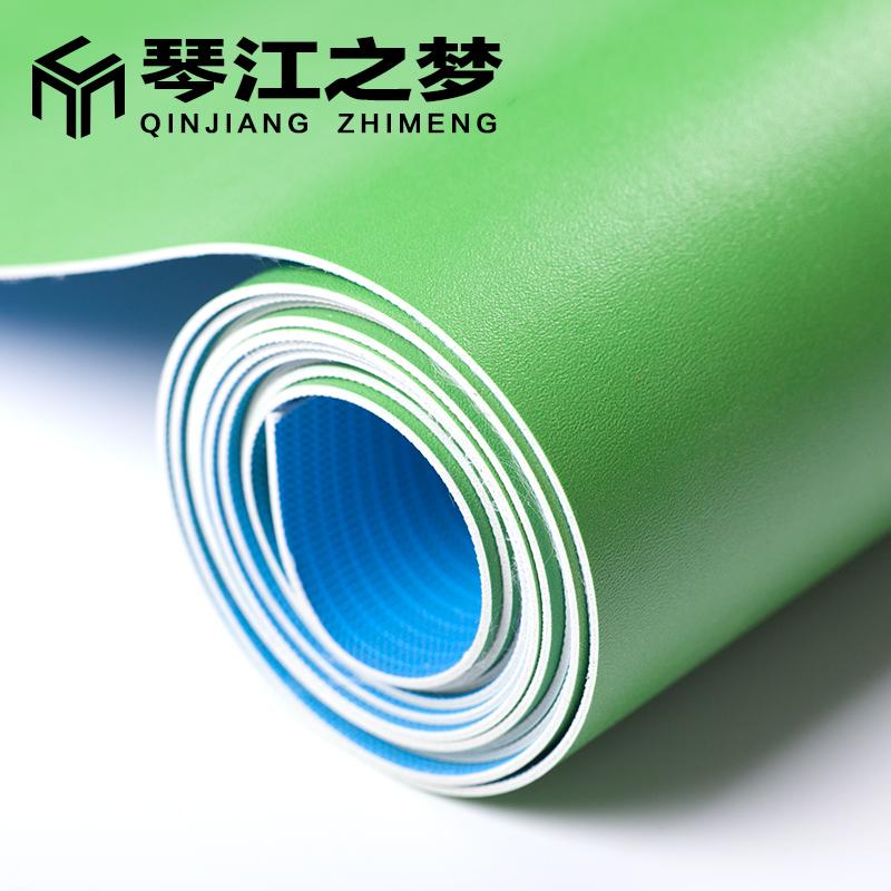 琴江之梦绿色地板革塑胶地板