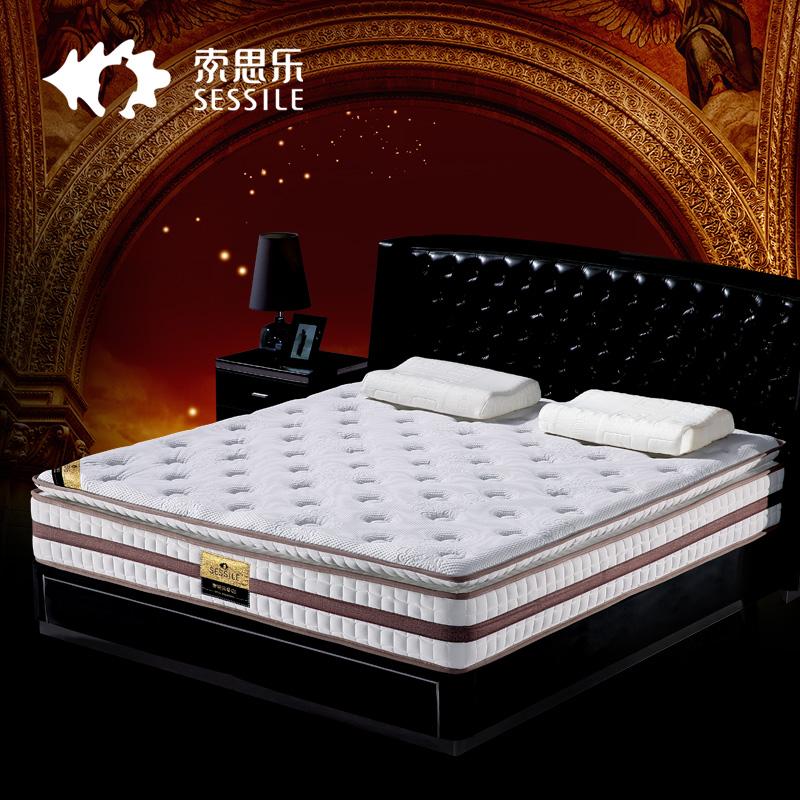 索思乐天然乳胶弹簧床垫圣地亚哥