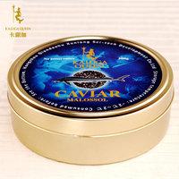 卡露伽海博瑞鲟 500g鲟鱼子酱 大颗粒优质黑鱼籽酱高端寿司食材