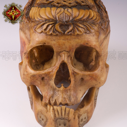 OGRM 奥格瑞玛 启示录系列嘎巴拉头骨2号 工艺品摆件——《双鱼》
