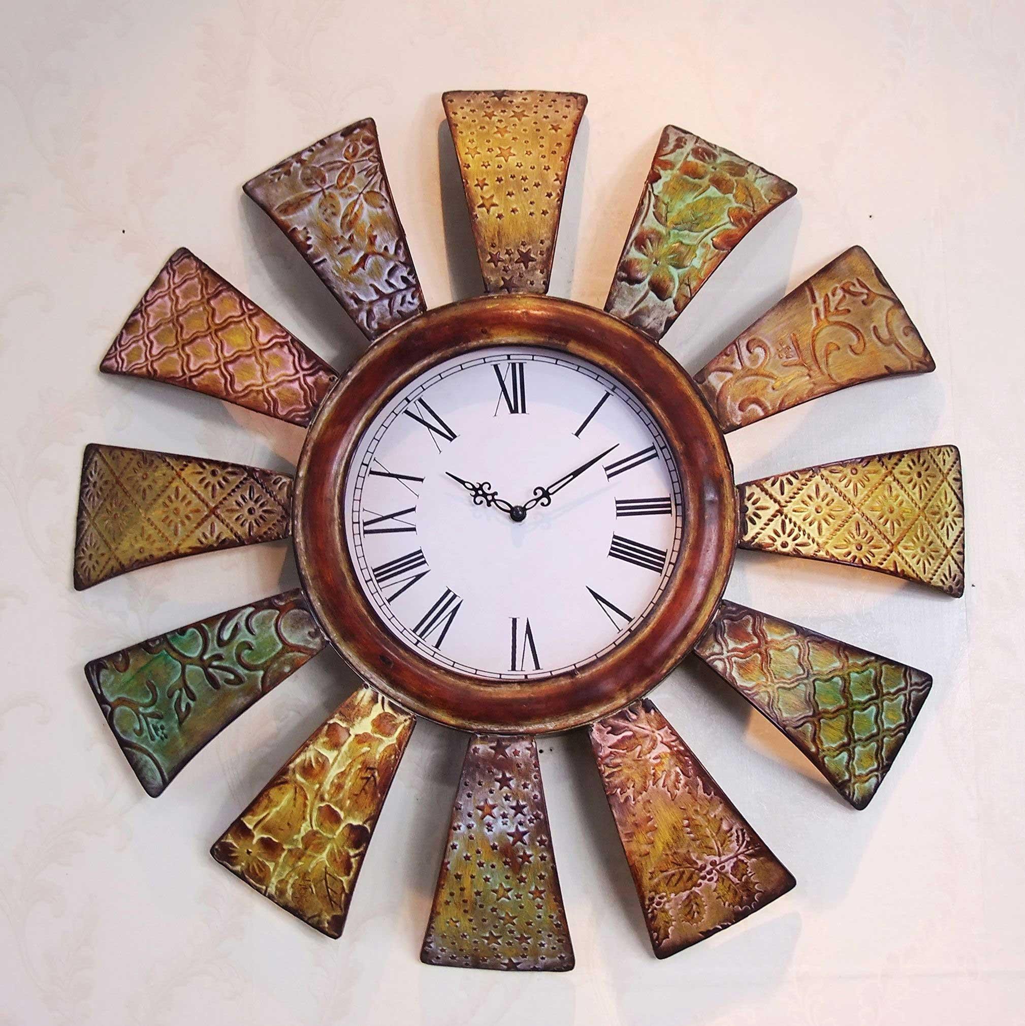 源正溢尚复古欧式大挂钟