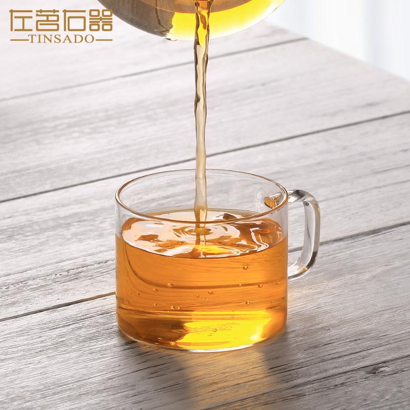 左茗右器耐热玻璃茶杯ZM-2612