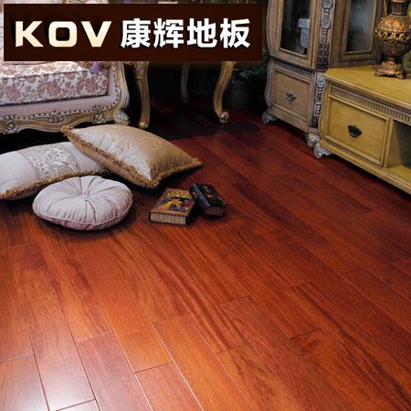 康辉亚花梨系列纯实木地板