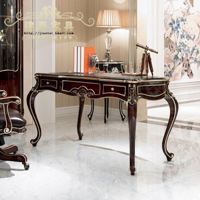 建泰美式实木书桌EE028