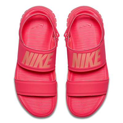 Nike Nike New Women's Tanjun Sandal Pink Ninja Beach Sandals 882694-600