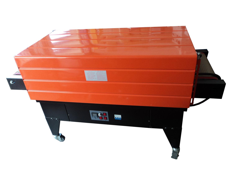 如旺包装 特氟笼BSA-4535喷气式内循环热收缩膜机收缩机覆膜机 特氟笼内循环喷气式热收缩包装机网式收缩机