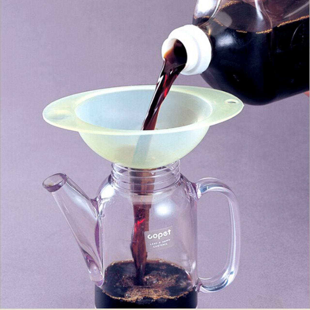 振兴YH506酱油塑料创意漏斗 加油 醋 酒 过滤 宽口漏斗