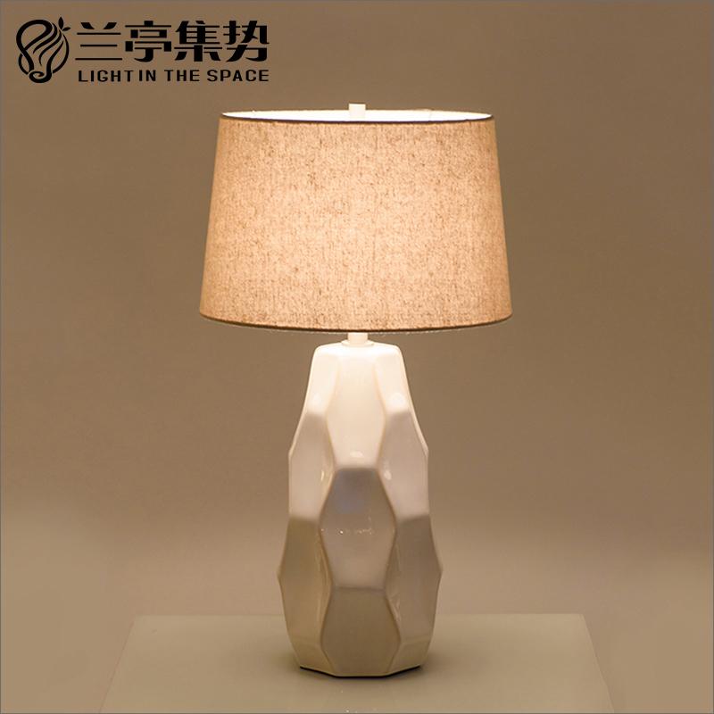 兰亭集势新中式陶瓷台灯HL13041