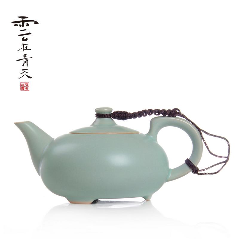 云在青天石瓢壶汝窑茶壶 SPH