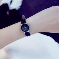 韩国潮流时尚森女表韩版简约皮带学生复古文艺小巧气质小清新手表