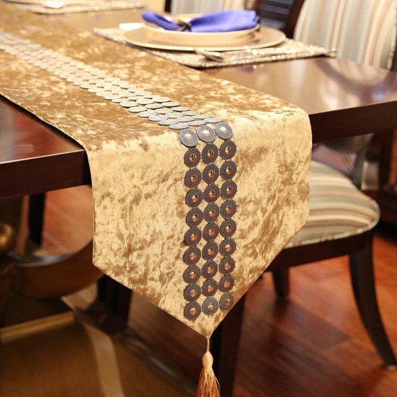 凯斯黛尔餐桌桌旗布0524
