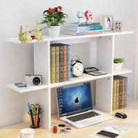 创意书架学生桌面书架桌上小书柜置物架简易办公书架收纳桌架