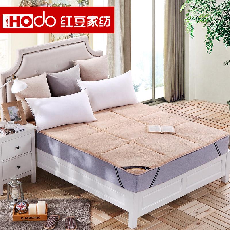 红豆家纺可折叠加厚保暖床垫A6J103Y22