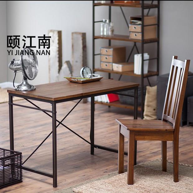 颐江南具实木餐桌Q34
