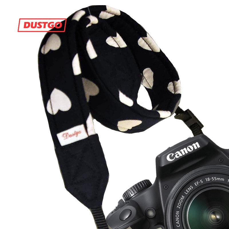 DUSTGO 佳能尼康单反相机摄影减压背带肩带 柔软舒适 手工制