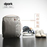 dpark手提电脑包14/15寸 苹果macbook pro双肩笔记本背包休闲男