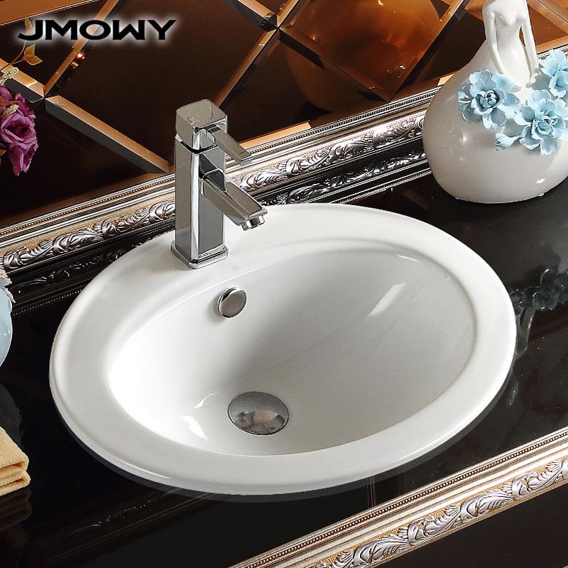 吉牧欧卫浴半嵌入式洗脸盆JTS3003