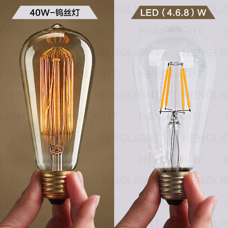 爱迪生led电灯泡HLT-ED-LED