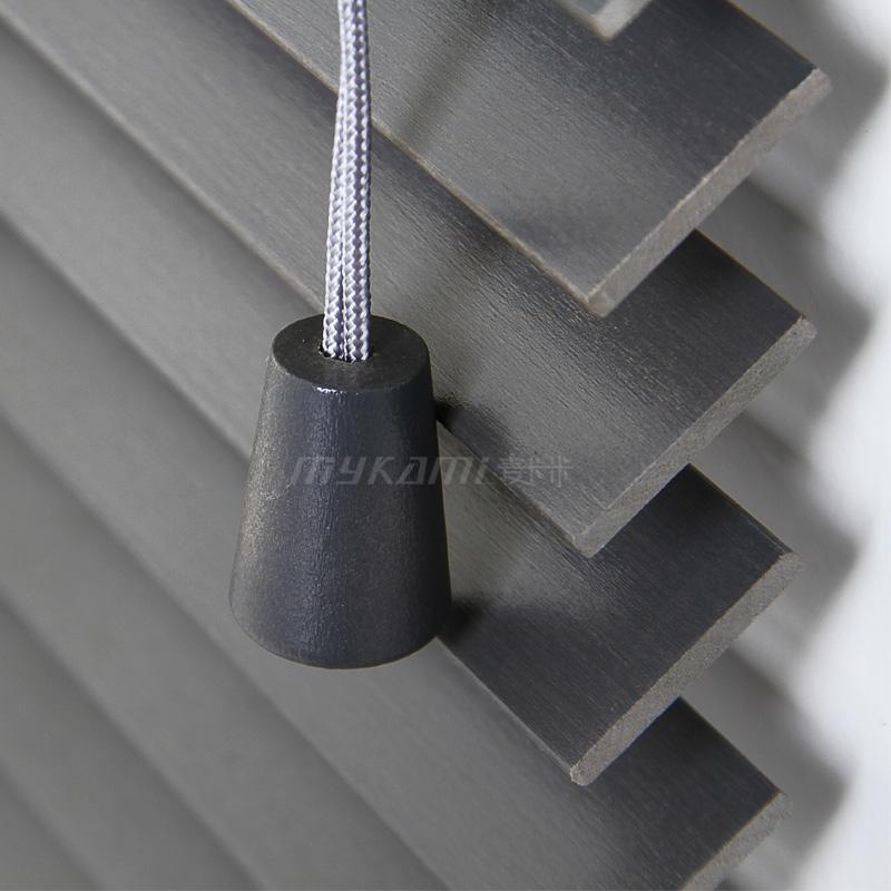 麦卡米遮光防晒实木百叶窗帘NX-J2