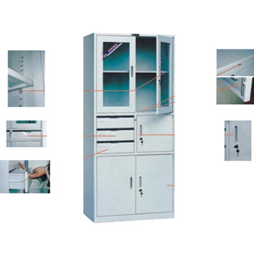 乔志百盛铁皮文件柜书柜QZ-SJW021