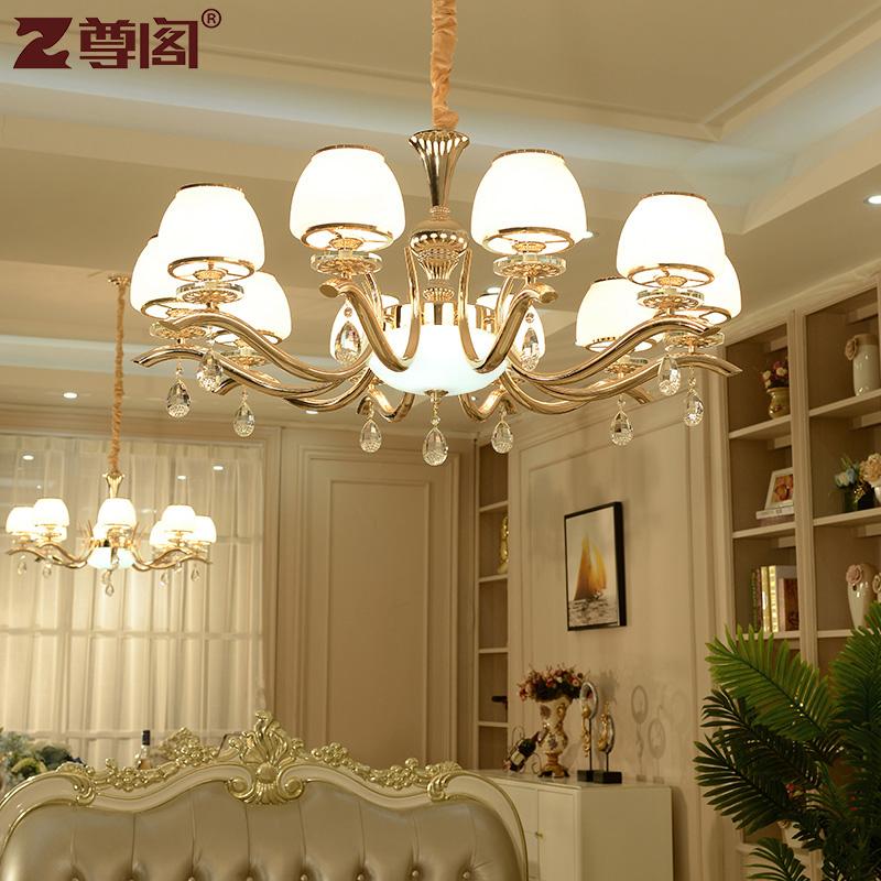 尊阁欧式水晶吊灯 Z312-10