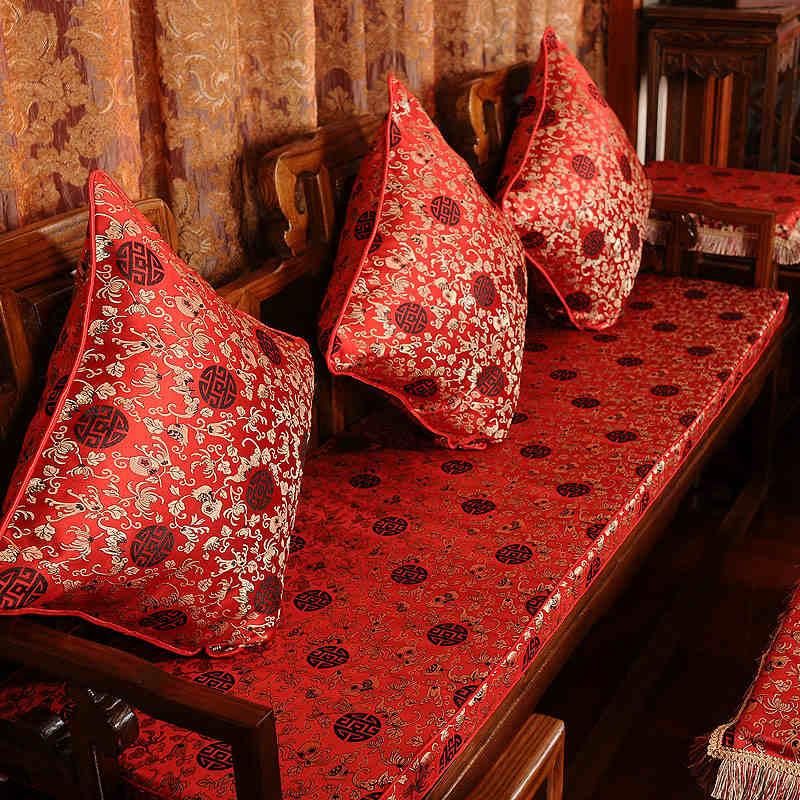 竹月阁红木沙发垫HMSFD